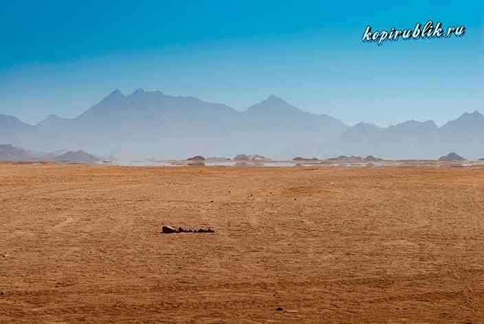 Фата-моргана, мираж в пустыне