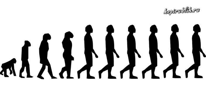 Отличие в походке человека и обезьяны