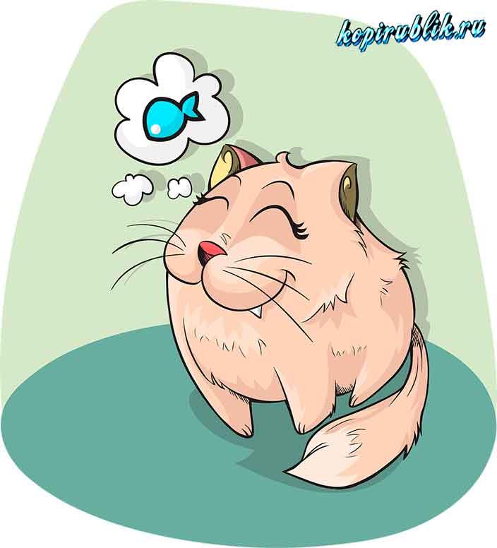 Пищевой инстинкт кота